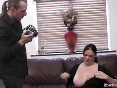 Chubby picked up and fucked from behind