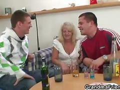 grannies, matures, old young, threesomes