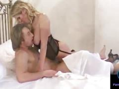 Blonde with huge tits jane darling rammed hard into her pink snatch