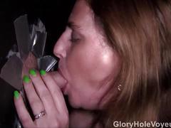 Real gloryhole massive cumshots
