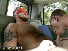 Blindfolded straight guy gets something he never tried before