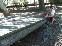 Hooker blows hiker on trail
