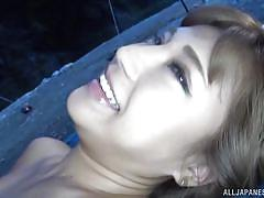 small tits, babe, japanese, outdoor, bikini, undressing, tent, pussy rubbing, boob groping, outdoor jp, all japanese pass