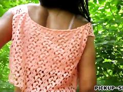Amateur eurobabe sofia like gets fucked in the woods