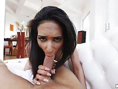 Wide angle view pussy fucked tia cyrus