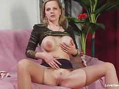 Kinky girlfriend licks her mans tight asshole