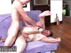Fit college boy gets his ass fucked in dorm room hazing