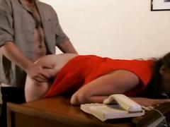 Iris von hayden fucked from behind with anal creampie