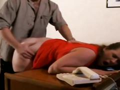 Iris von hayden fucked from behind with anal creampie
