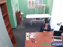Fakehospital sexy aussie tourist with big tits loves the dr