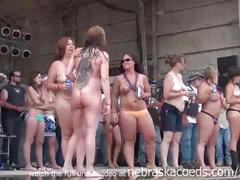 Hot body biker rally contest in algona iowa