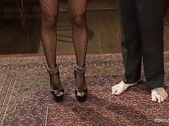 Heel instead of dildo