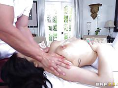 big ass, massage, big tits, babe, blowjob, oiled, fingering, from behind, squeezing tits, dirty masseur, brazzers, ryan smiles, jmac