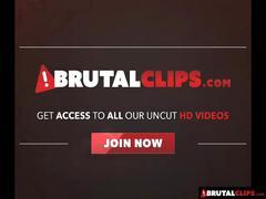Brutalclips - intense gangbang for elizabeth lawrence