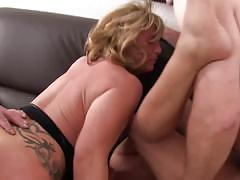Wild and intense foursome with mature germans