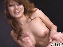 blowjob, japanese, sucking, asian, wanking, tit fucking