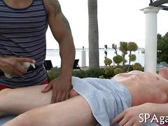 Tow hot studs ass fucking and doing it real raw