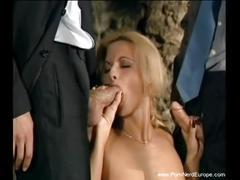 Double penetration anal german blonde milf