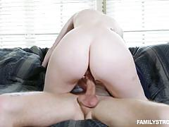 Stacey leann bouncing on a big boner