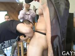 Blowing the cock and the session is real spectacular