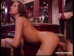 Old sex wanda fucks in a bar
