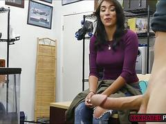Latina babe jessi fuck for huge cash