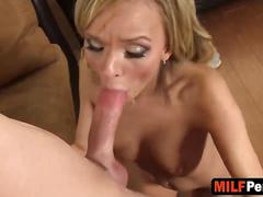 Cheating milf pristine edge gives incredibly hot blowjob