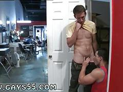 Hot guys standing and fucking in public doggy style