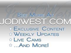 Jodi west live on cam
