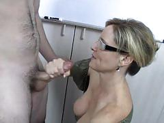 jodi west, cumshot, milf, handjob, teacher and student, handjob cumshot