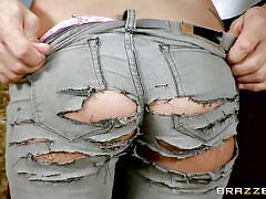 blonde, babe, burglar, bubble butt, butt plug, police uniform, big butts like it big, brazzers network, ramon nomar, kat dior