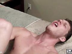 Horny colby jansen visits paul canon apartment for a gay hardcore fucked