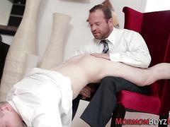 Bishop spanking mormon