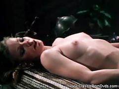 Brunette vintage sex film