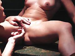 Amateur couple having real intimate sex