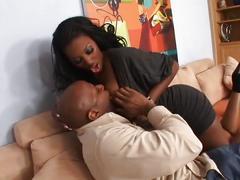 Big ass big tits black lady