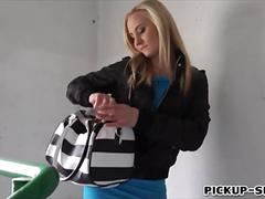 Sexy blonde czech babe helena valentine pounded for cash