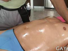 Latin guy gets ass fucked by a horny masseur