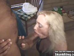 Big black dick fucks white wife of loser gambler