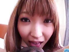 Ayumi kisa gets her wet bush slammed