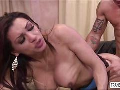 blowjob, big tits, fucks guy, hardcore