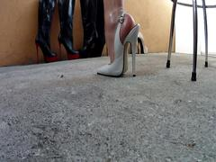 Heels and oil