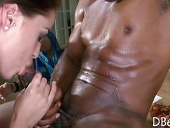 Girls sucks dick and gets cum all video film 1