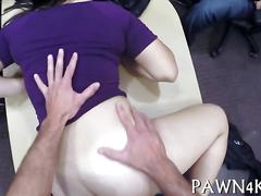 Slamming that wet pussy and she loves the hot fuck