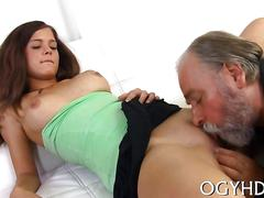 Humping that old cock and shes already done