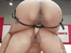 fisting, interracial, lesbian, anal, ultimatesurrender, black, girl-on-girl, ass-fuck, competition, wrestling, sex-toys, redhead, shaved-pussy, glasses, brunette, dildo, strap-om