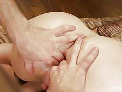 milf, tattoo, blonde, domination, ass fingering, big dick, anal sex, instructional, educational, kink university, kink, simone sonay, michael vegas