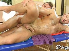 Blowing a fat one and the dudes are getting off hard