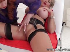 Milf friend red xxx plays with bound lady sonia pussy and big tits
