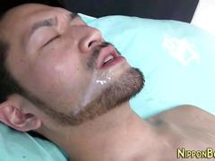 Asian twink gets facial asian movie 1